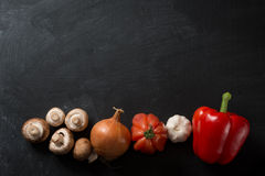 Cooking Background vegetables Royalty Free Stock Images
