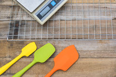 Cooking bakery utensils tools Stock Photography