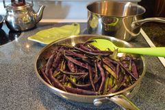 Cooking beans Stock Photos