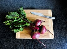 Cooking beetroots. Royalty Free Stock Photos