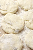 Cooking: cake dough Royalty Free Stock Photography
