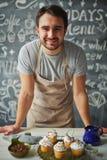 Cooking cakes Stock Photos