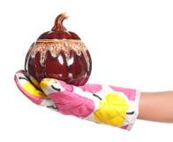 Cooking ceramic pot Royalty Free Stock Photos