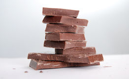 Cooking chocolate Royalty Free Stock Images