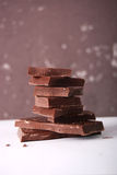 Cooking chocolate Stock Photography