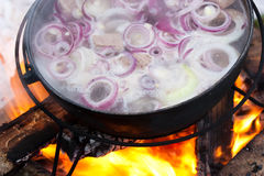 Cooking Chorba Royalty Free Stock Photos