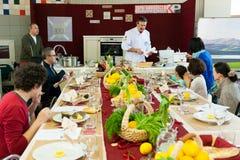 Cooking class Stock Photos