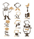 Cooking collection Stock Images