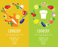 Cooking collection compositsion Royalty Free Stock Image