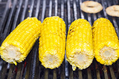 Cooking corn Stock Photo