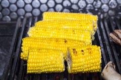 Cooking corn Stock Photo