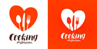 Free Cooking, Cuisine, Cookery Logo. Restaurant, Menu, Cafe, Diner Icon Or Label. Vector Illustration Royalty Free Stock Image - 95793776