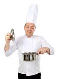 Cooking delicious food Stock Photo