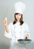 Cooking disaster Royalty Free Stock Photography