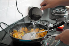 Cooking Dishes Stock Photo