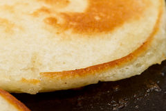 Cooking drop scones Royalty Free Stock Image