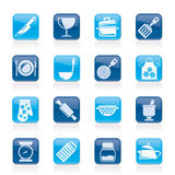 Cooking Equipment Icons Royalty Free Stock Image