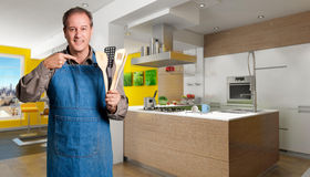 Cooking expert Royalty Free Stock Image