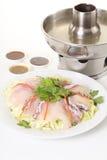 Cooking fish soup Stock Photos
