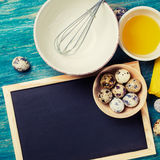 Cooking food - sauce ingredients royalty free stock photos
