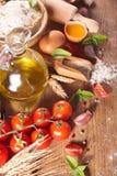 Cooking, fresh ingredient Stock Image
