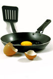 Cooking fried egg Royalty Free Stock Photo
