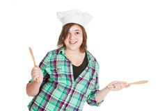 Cooking Fun Stock Photo