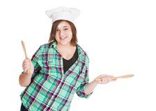 Cooking Fun Stock Photography
