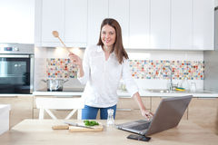 Cooking is fun Royalty Free Stock Photo