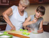 Cooking is fun Royalty Free Stock Images