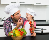 Cooking Royalty Free Stock Photo