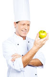 Cooking only healthy food. Royalty Free Stock Photos