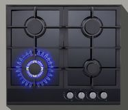 Cooking hob Royalty Free Stock Photos