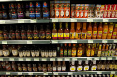 Cooking and hot sauces Royalty Free Stock Photos