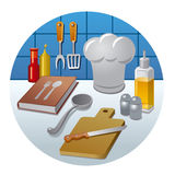 Cooking icon concept Royalty Free Stock Photo
