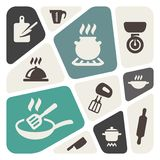 Cooking icon set. Vector Illustration Stock Photo