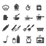 Cooking icon Royalty Free Stock Photos