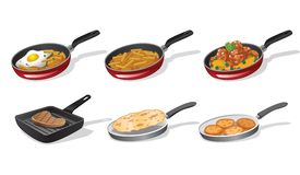 Cooking icons Stock Photo