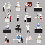 Cooking Icons Set Royalty Free Stock Photography