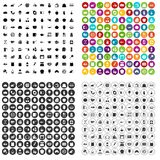 100 cooking icons set vector variant. 100 cooking icons set vector in 4 variant for any web design isolated on white Vector Illustration