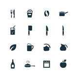 Cooking icons set Stock Photo