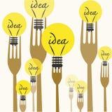 Cooking ideas stock illustration