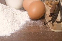 Cooking ingredients Royalty Free Stock Image