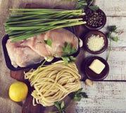 Cooking Ingredients Royalty Free Stock Photo