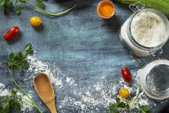 Cooking background royalty free stock image