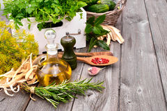 Cooking ingredients Royalty Free Stock Photo