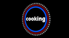 Cooking Intro Animation stock footage