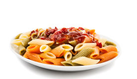 Cooking Italian Pasta Isolated Stock Image
