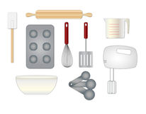 Cooking Items Stock Photo