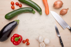 Cooking items Stock Images